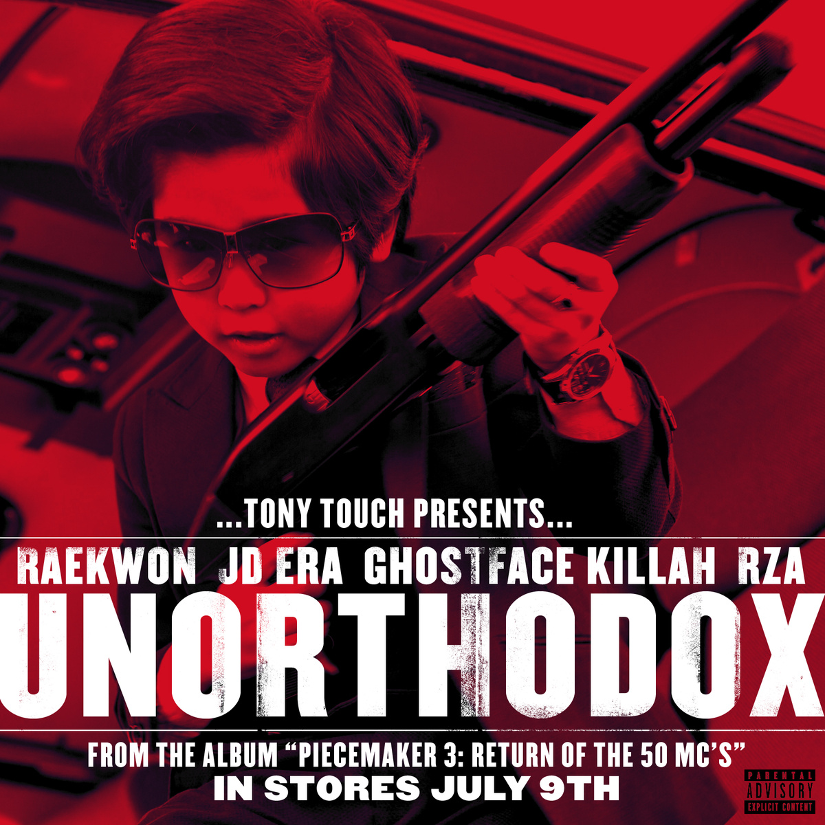 Tony Touch presents Raekwon, JD Era, Ghostface KIllah and The RZA - Unorthodox [audio]