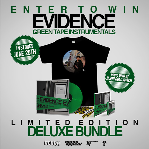 Evidence - Green Tape Instrumentals Deluxe [Contest]