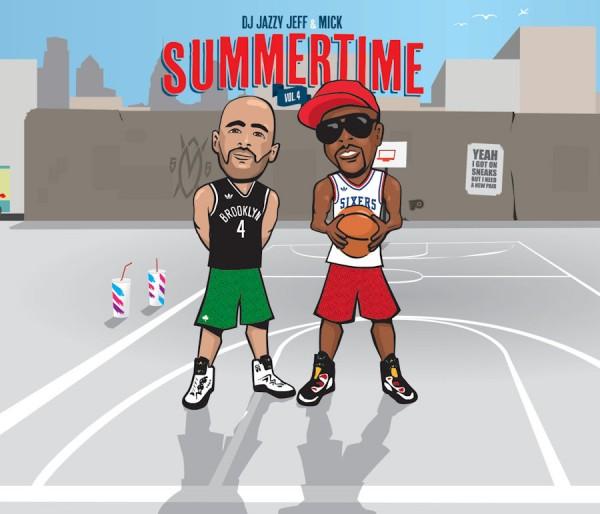 DJ Jazzy Jeff & Mick Boogie - Summertime Vol. 4 [mixtape]