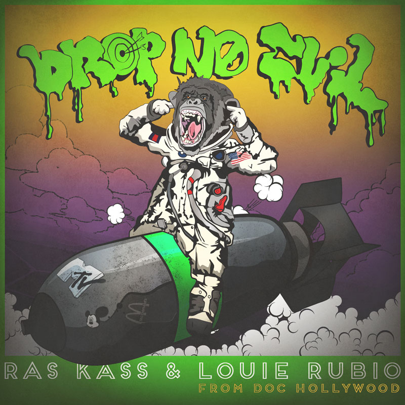 "Ras Kass x Louie Rubio ""Drop No Evil"" EP"