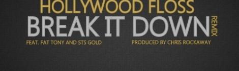 Hollywood FLOSS - Break It Down (Remix) ft. Fat Tony & STS Gold [mp3]