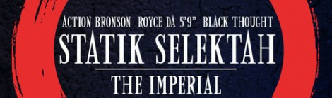 "Statik Selektah ""The Imperial"" (Shade 45 Rip) ft. Action Bronson, Royce Da 5'9, & Black Thought [audio]"