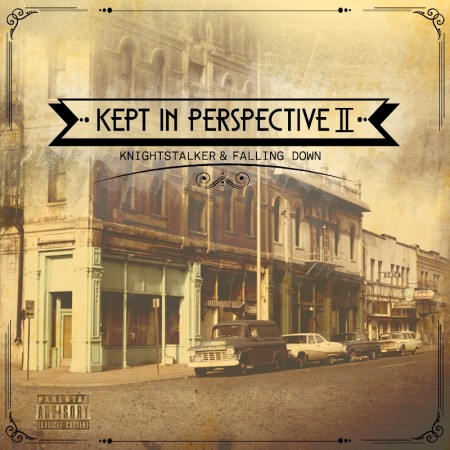 Knightstalker_&_Falling_Down-Kept_In_Perspective_II-(EP)-(Front_Cover)