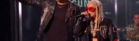 "G-Eazy ""Me, Myself, and I"" ft. Bebe Rexha (Jimmy Kimmel) [video]"