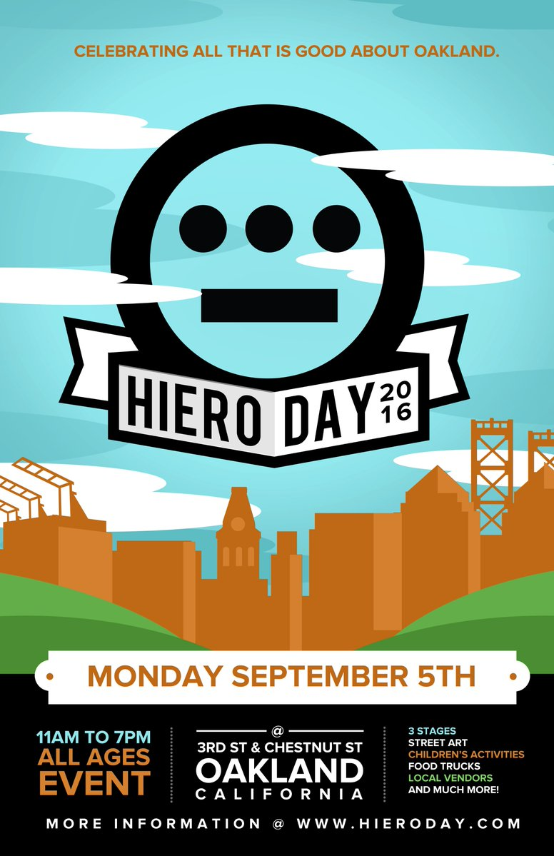 Hieroglyphics Celebrates 5th Year Of Hiero Day w/ Juvenile, Too Short, Just Blaze, Asher Roth, Murs, Mr. Lif, Dilated Peoples, Paris, Lyrics Born, Young L (The Pack) and many more.