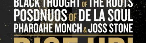 J.Period - RISE UP! ft. Black Thought, Posdnuos, Pharoahe Monch & Joss Stone [audio]