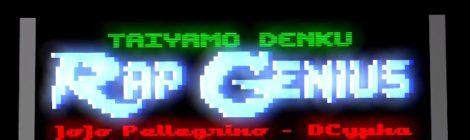 Taiyamo Denku - Rap Genius ft. JoJo Pellegrino [video]