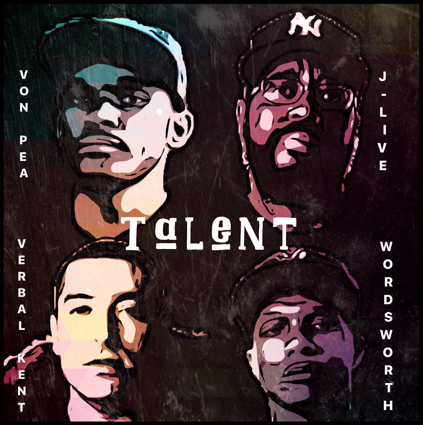 Von Pea & The Other Guys - Talent ft. J-Live, Verbal Kent & Wordsworth [audio]