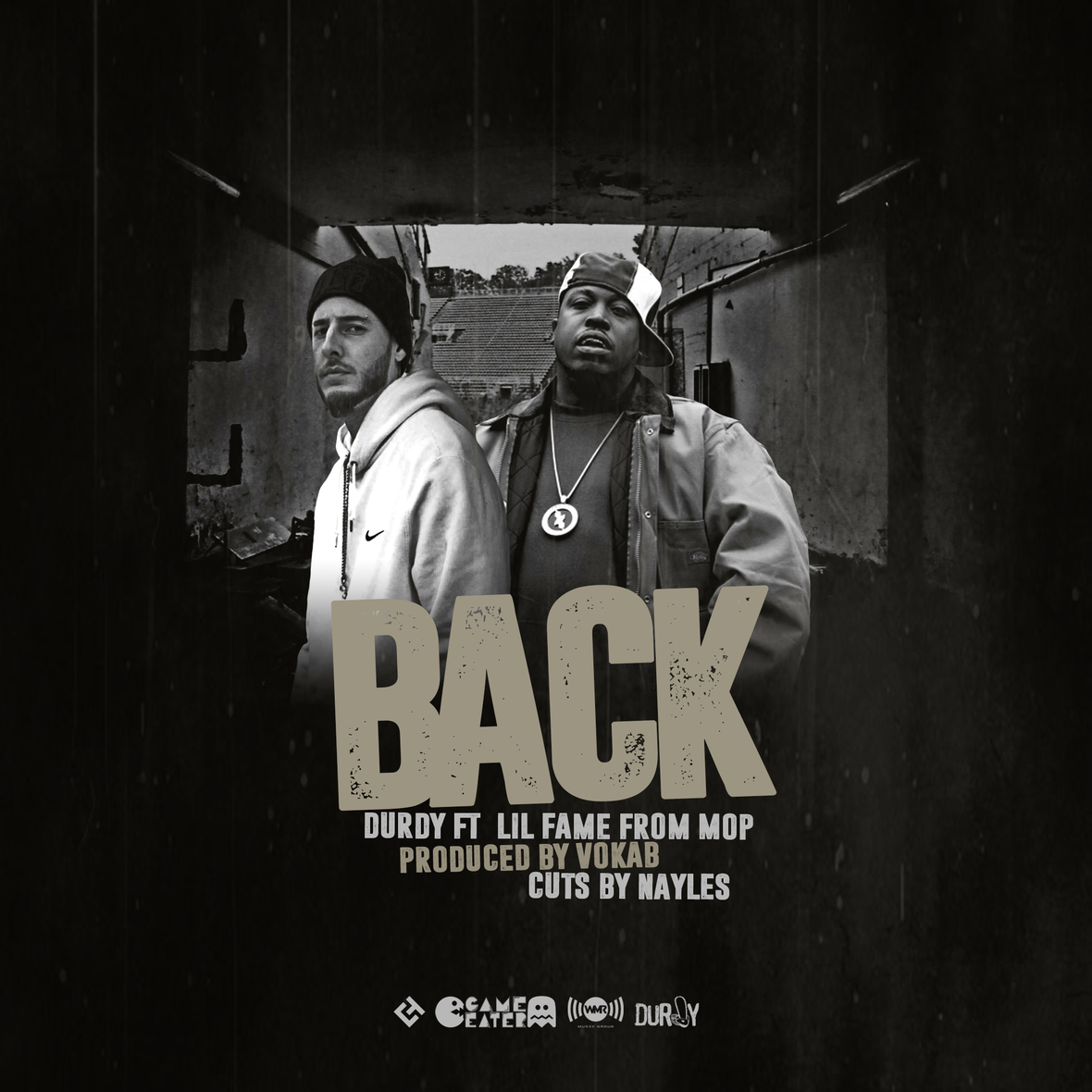 Durdy - BACK Feat. Lil Fame of M.O.P. (Produced by Vokab) [audio]