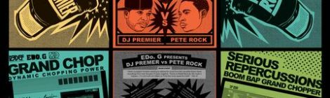 "EDo G Presents DJ Premier VS Pete Rock (Vocal Versions from 7"" Vinyl Box set / CD)"