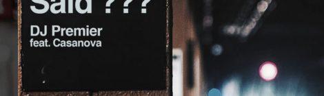 DJ Premier - Wut U Said? [audio]