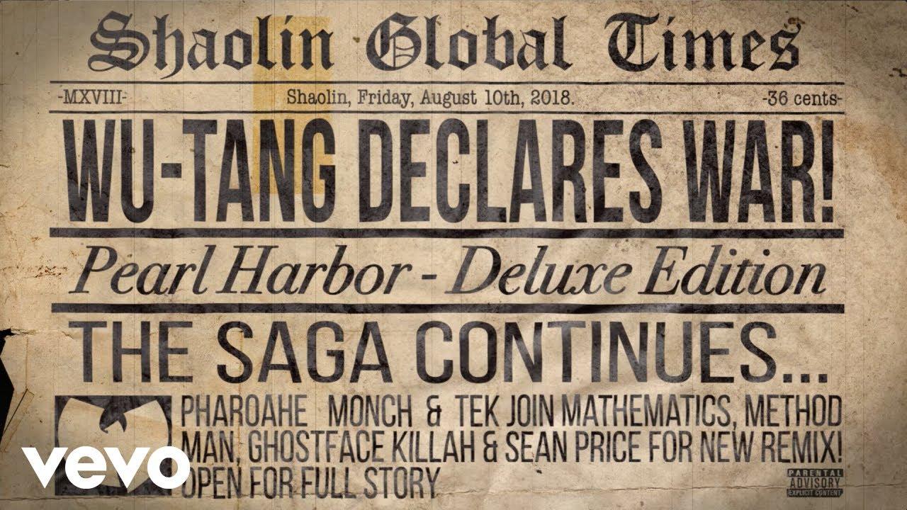 Wu-Tang Clan - Pearl Harbor (REMIX) feat. Mathematics, Method Man, Ghostface Killah, Sean Price, Pharoahe Monch and Tek [audio]