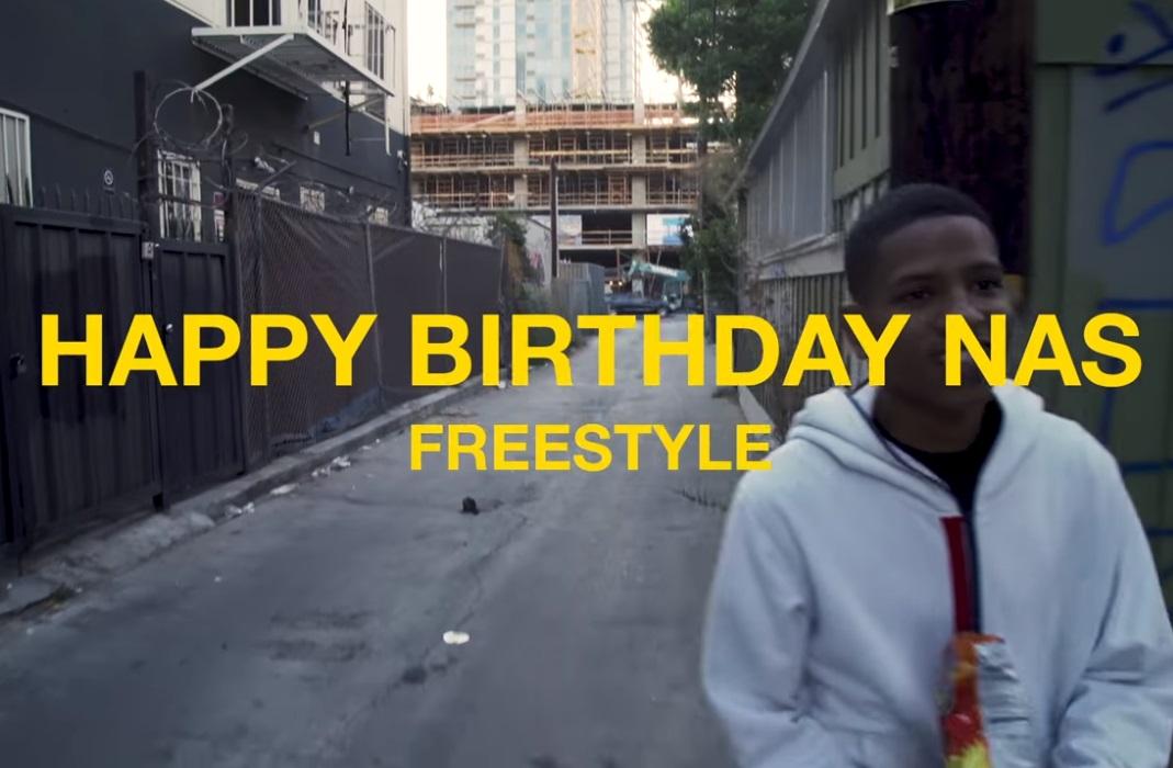 Ezri - Happy Birthday Nas Freestyle (Official Video)