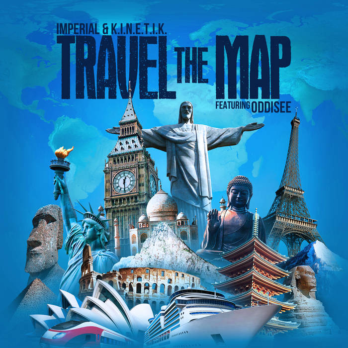 Imperial & K.I.N.E.T.I.K. - Travel the Map [EP] feat. Oddisee