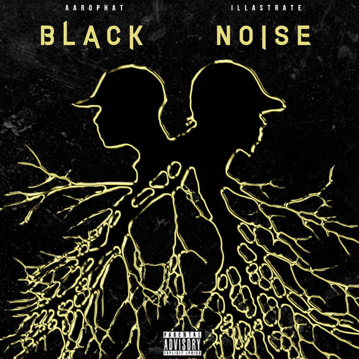 Aarophat and Illastrate as Black Noise - Black Noise 10 Year Anniversary LP w/ 2 New Bonus Tracks