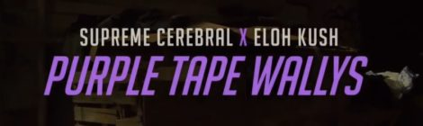 Clark Connoisseurs (Supreme Cerebral x Eloh Kush) - Purple Tape Wallys (Prod. By: Clypto) [video]