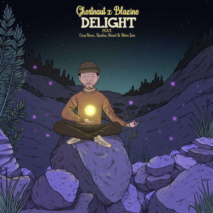 Ghostnaut & Blazino - Delight (Feat. Ozay Moore, Raashan Ahmad & Moira Jean)