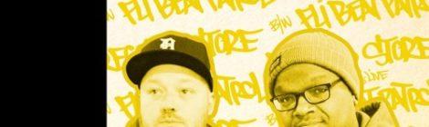 "Dragon Fli Empire - ""Record Store"" feat. J-Live b/w ""Fli Beat Patrol"" (7"" Vinyl)"