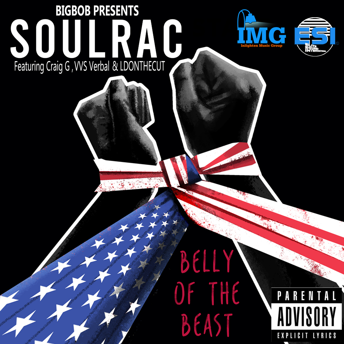 BigBob - Belly Of The Beast ft SoulRac, Craig G, VVS Verbal & LDontheCut Prod. By BigBob VIDEO