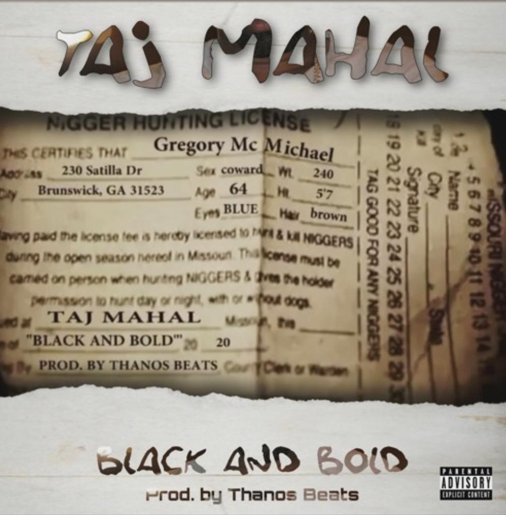 Taj Mahal - Black and Bold (prod by Thanos Beats)
