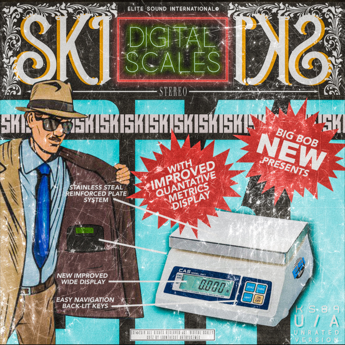 BigBob - Digital Scales ft Ski Prod. By BigBob (Cuts by LDontheCut)
