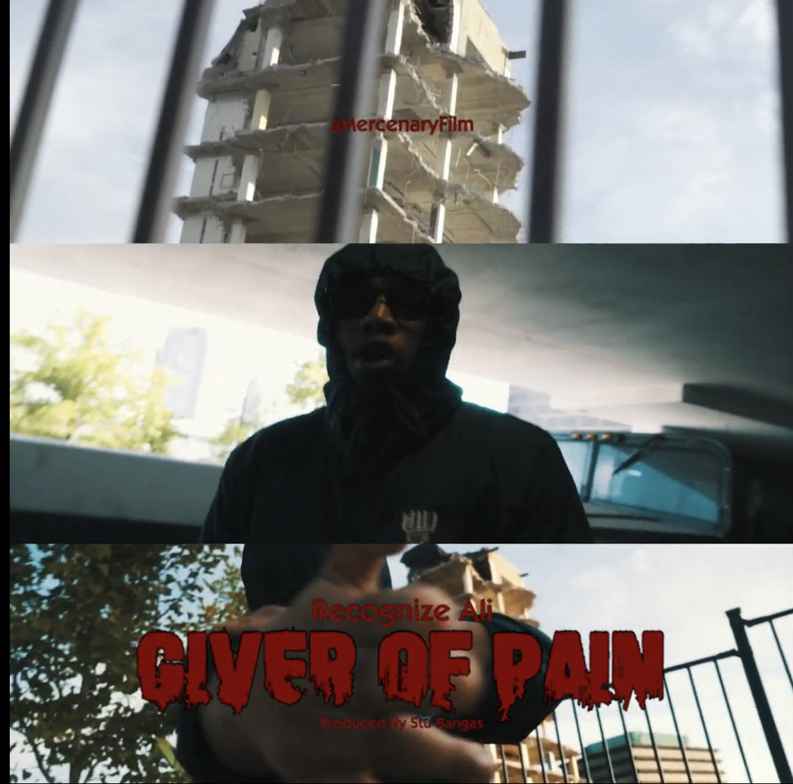 """Recognize Ali & Stu Bangas """"Giver Of Pain"""" Video Trailer"""
