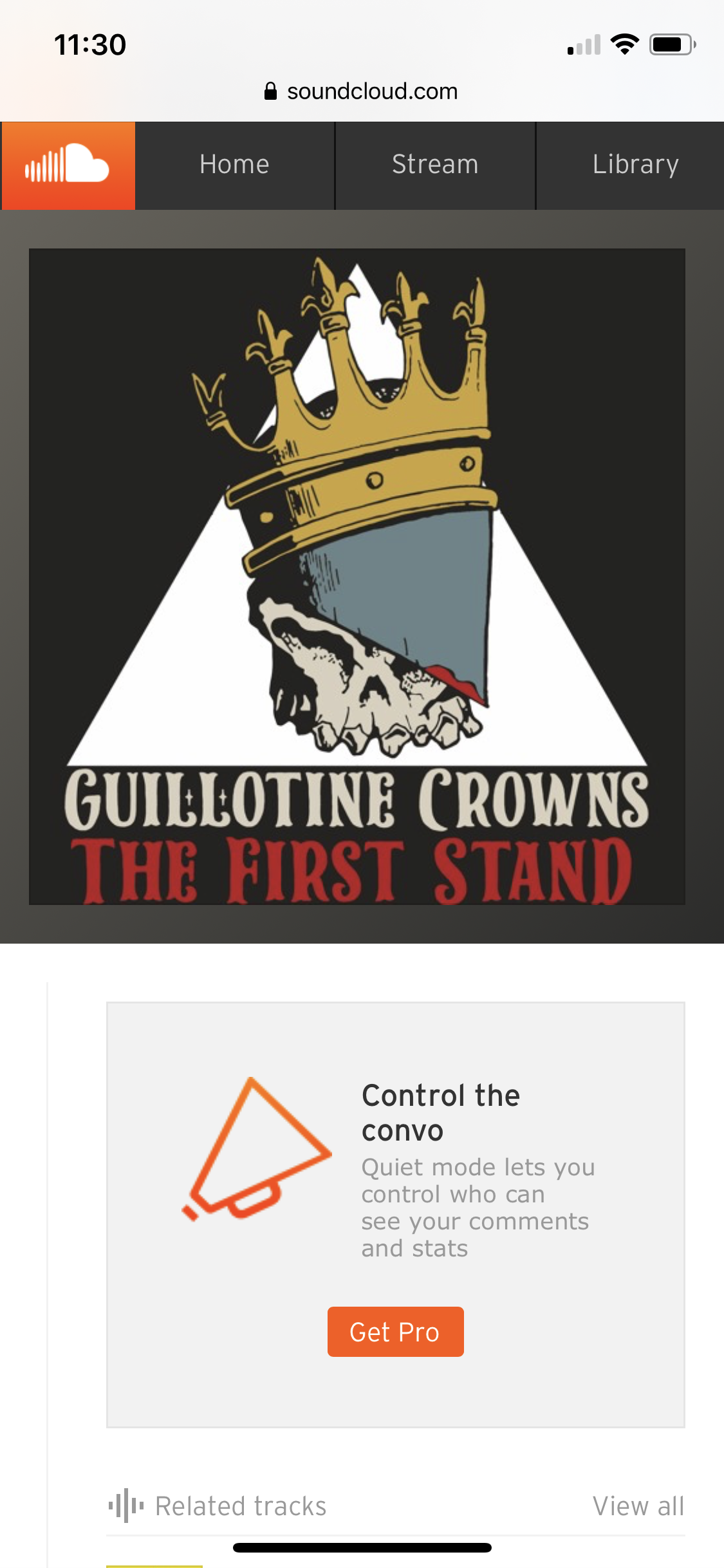 Guillotine Crowns - God Save Us From the Devil | Audio