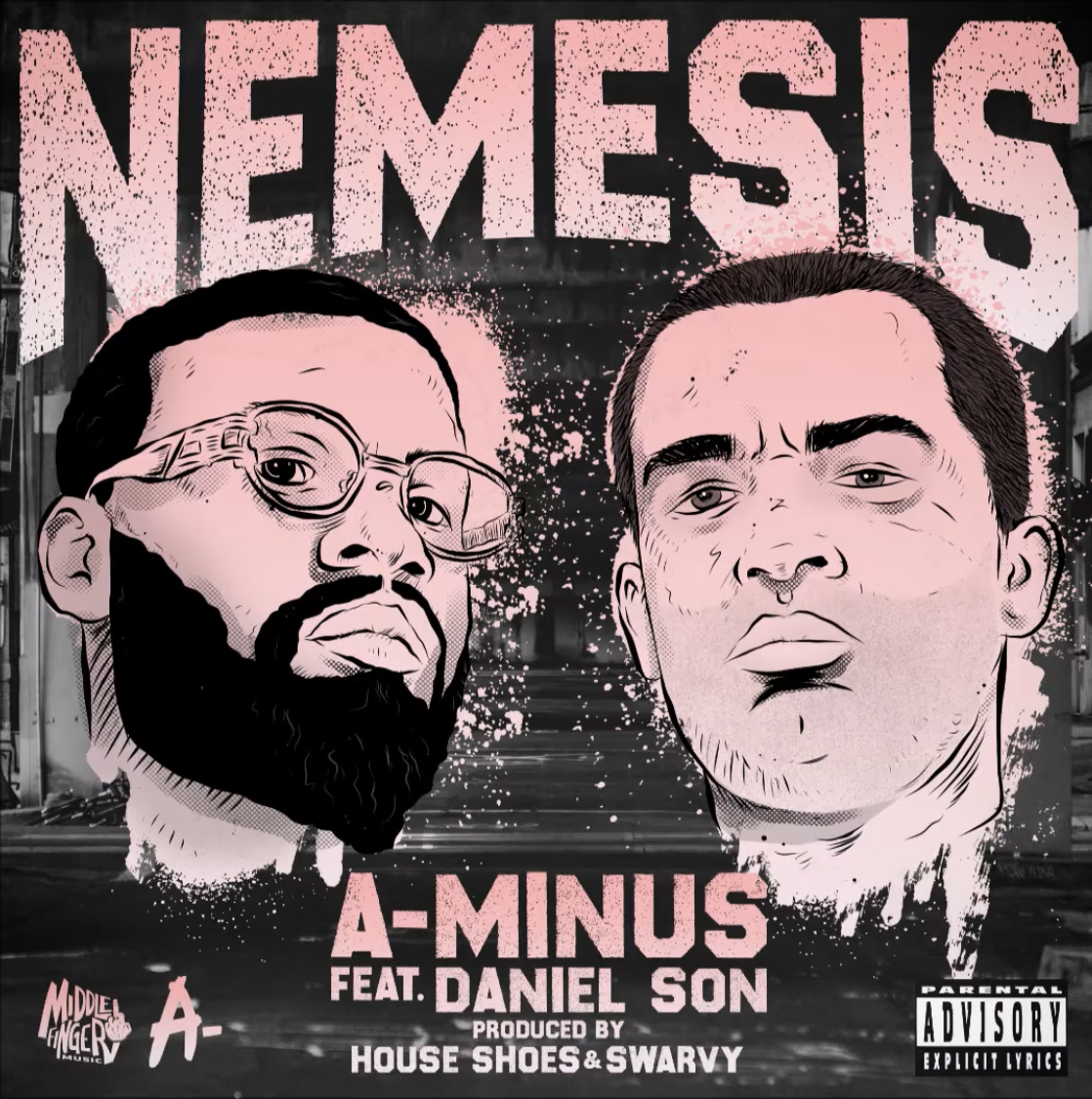 A-Minus - 'Nemesis' ft. Daniel Son (prod. House Shoes & Swarvy)