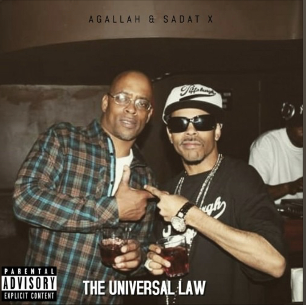 Agallah & Sadat X - The Universal law (Prod. By Agallah)