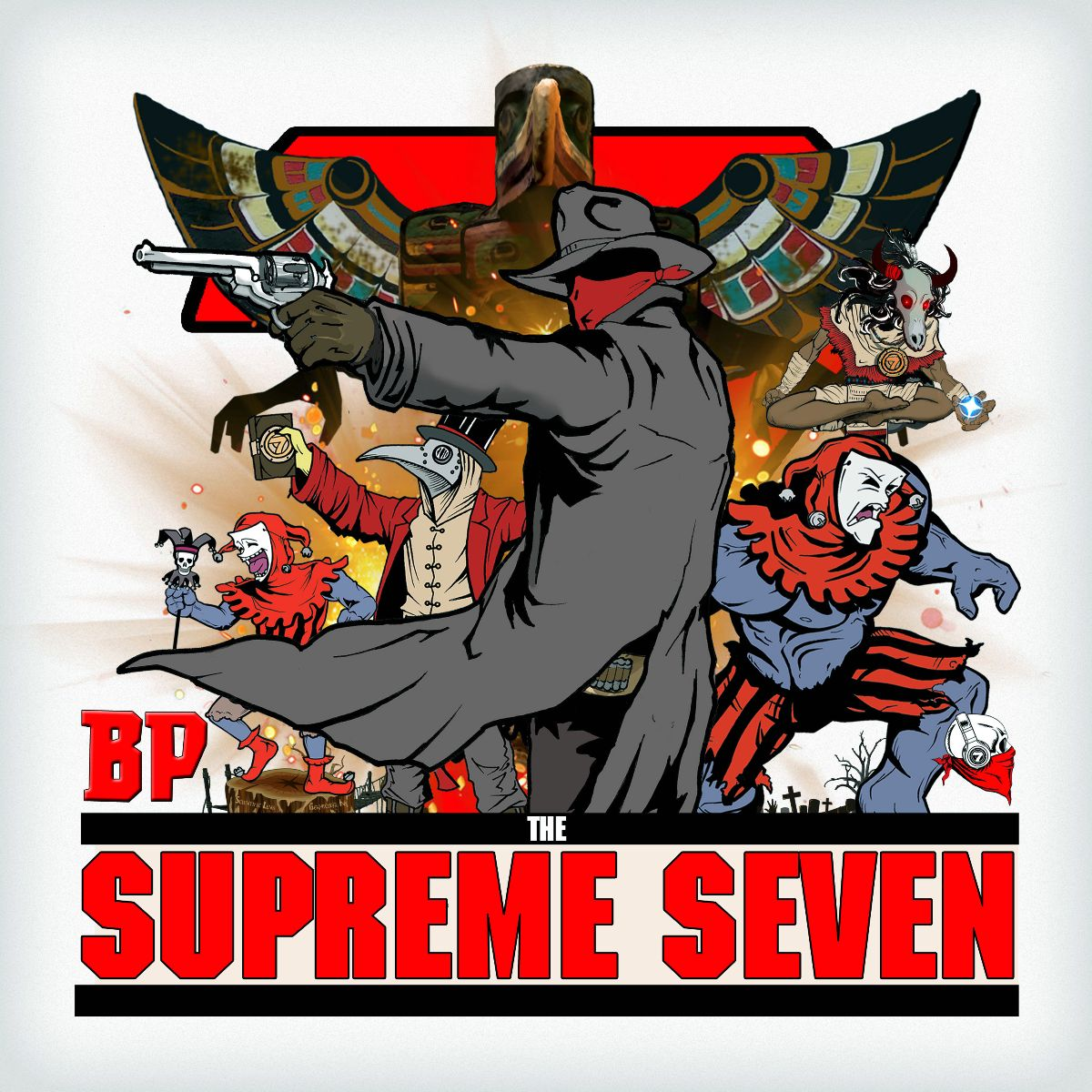 "BP ""The Supreme Seven"" feat. RJ Payne, KXNG Crooked, Ras Kass, Tragedy Khadafi, Nature & The Hoodies Full"