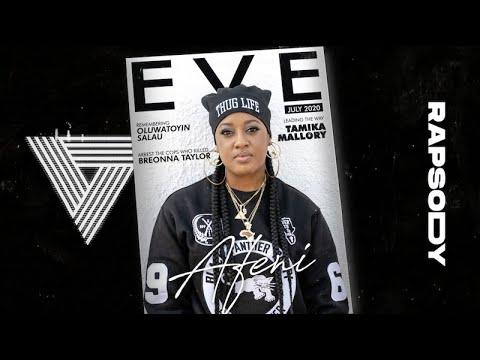 Rapsody - Afeni Remix feat. PJ Morton & D Smoke (Lyric Video)