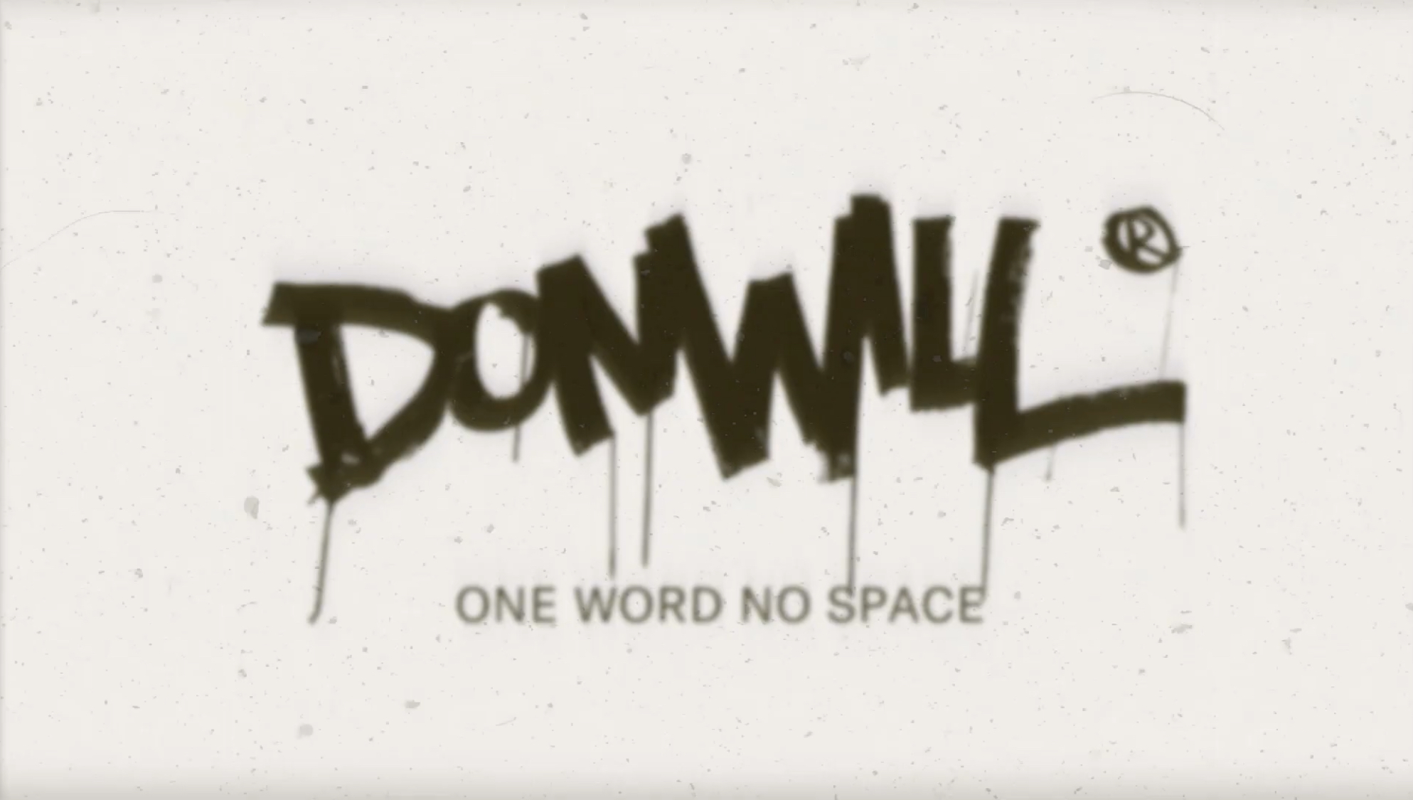 Donwill - One Word No Space | Video