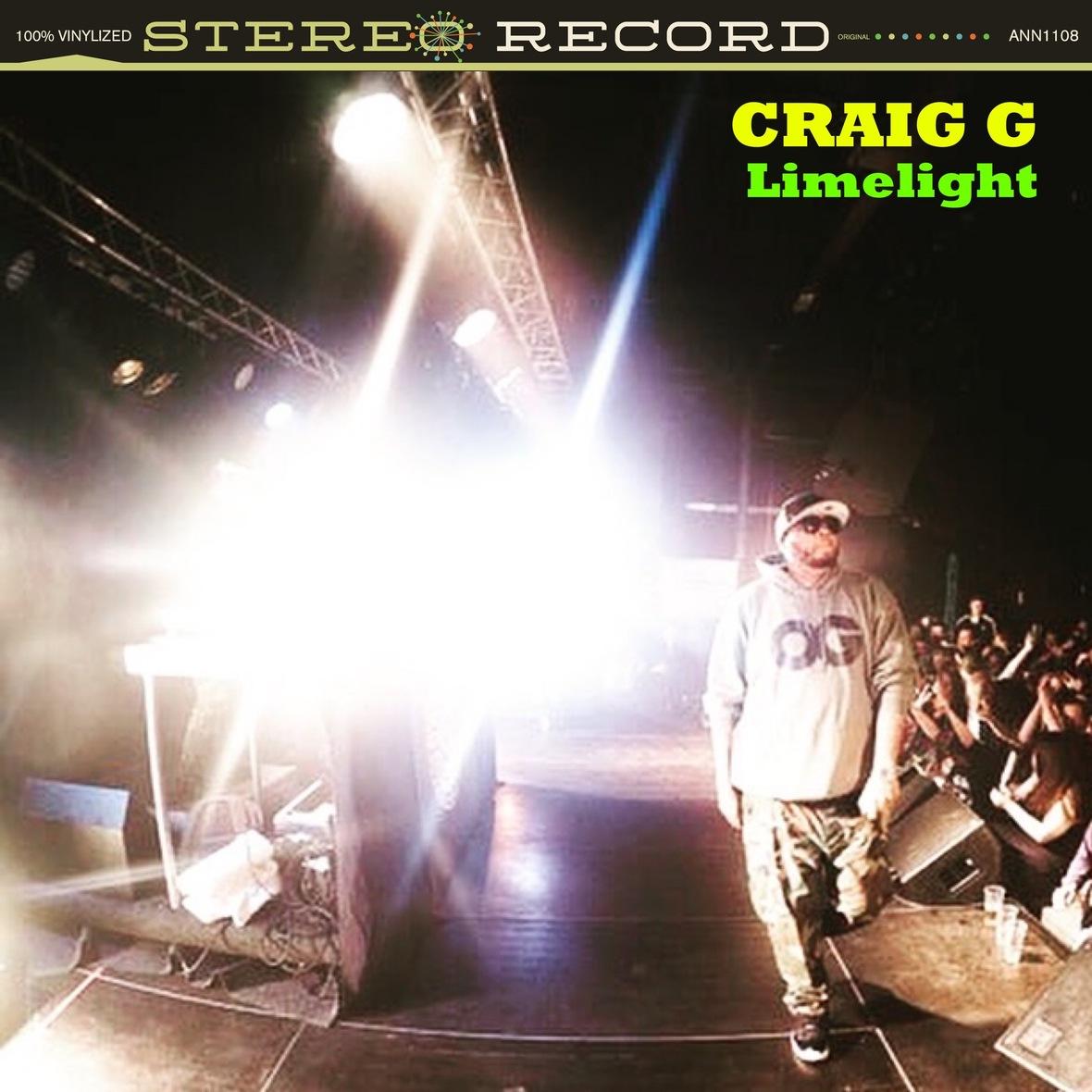 """Craig G & Fruition Beats """"Limelight"""""""