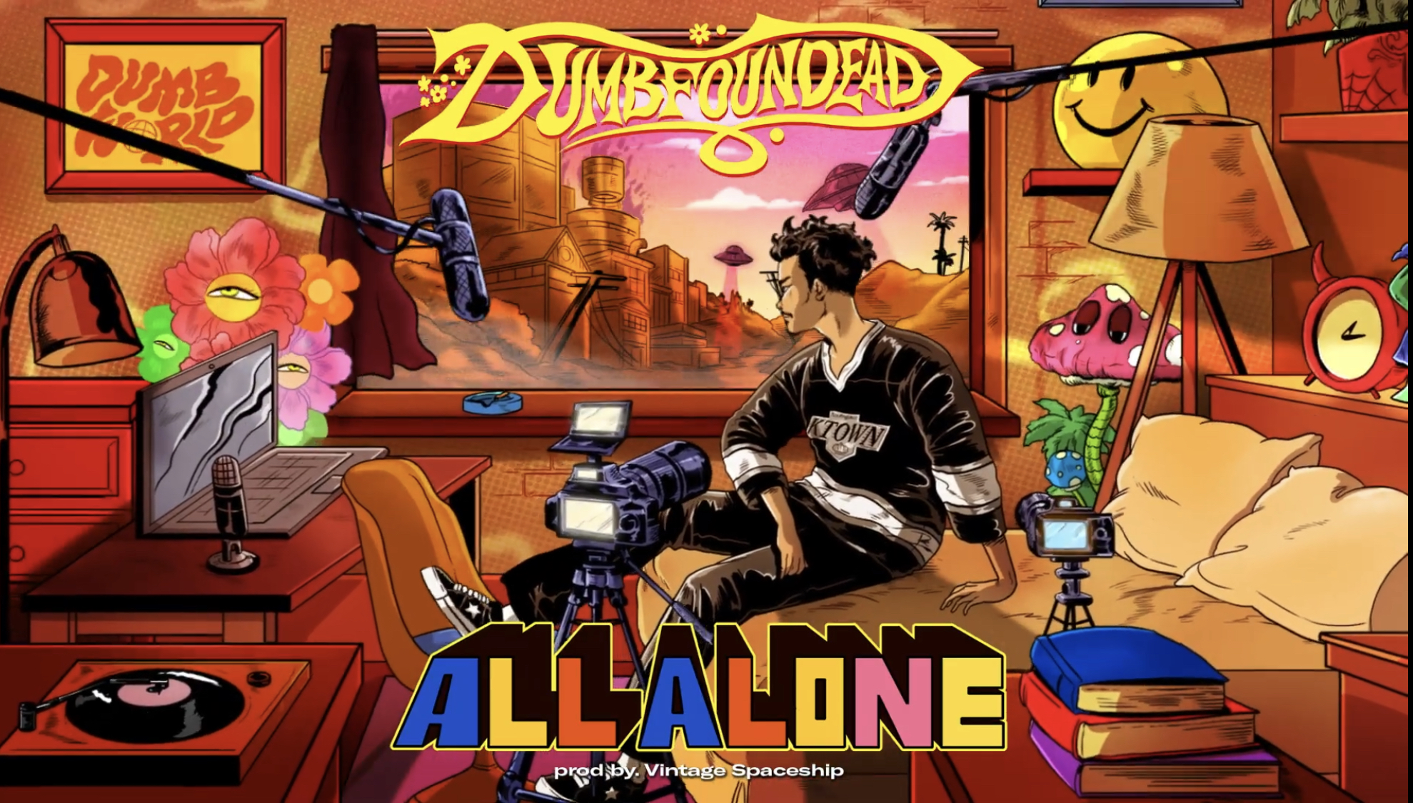 Dumbfoundead - All Alone (Official Audio)