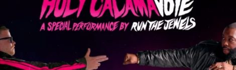 Adult Swim + Ben & Jerry's presents HolyCalamavote: Run The Jewels Performance Oct. 10th