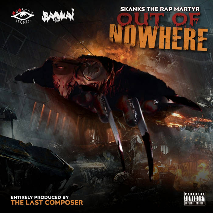 Skanks The Rap Martyr - Out Of Nowhere (Album)