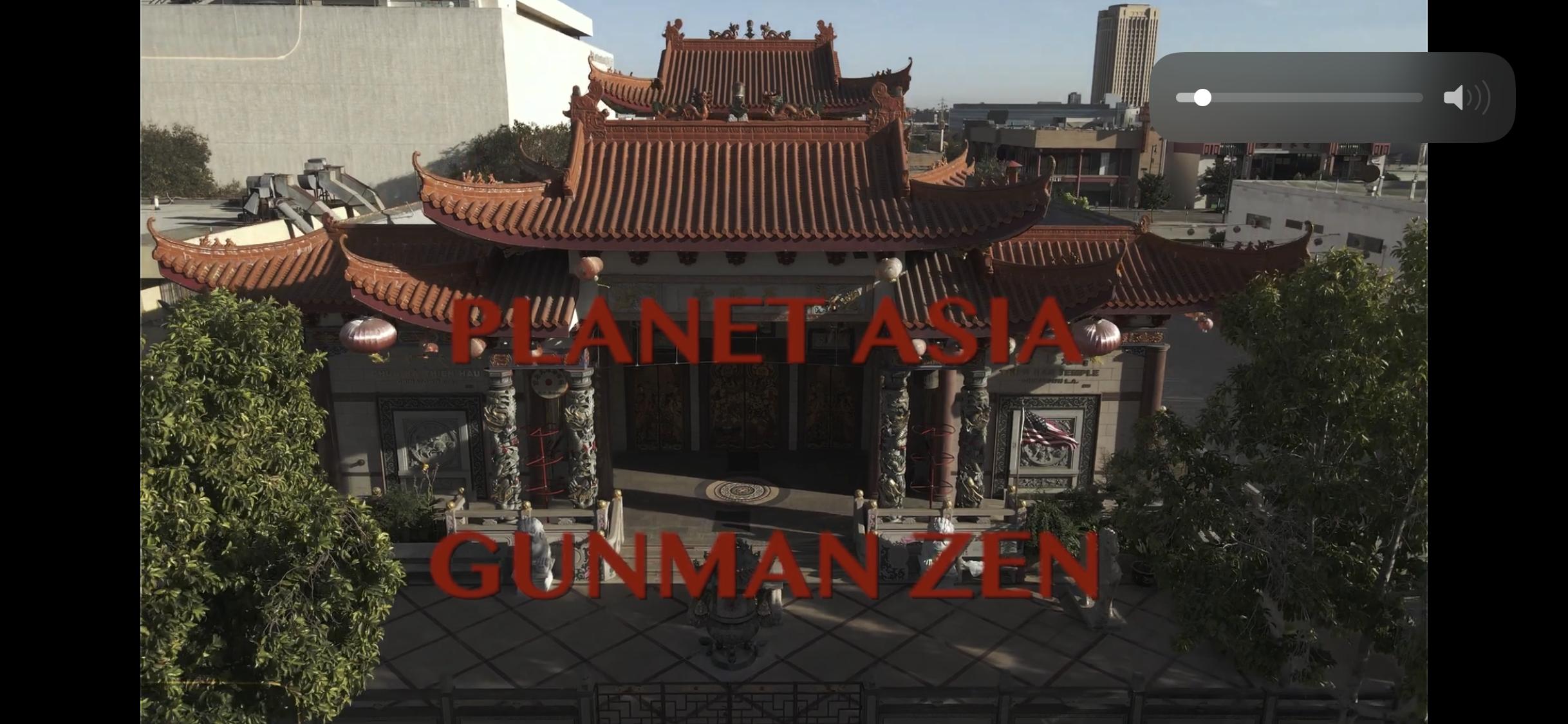 "Planet Asia - ""Gunman Zen"" prod. by DirtyDiggs (Official Video)"