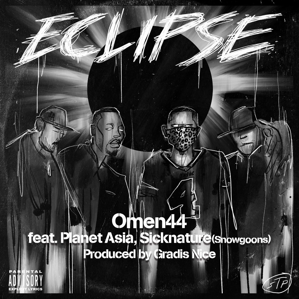 """Omen44 - """"Eclipse"""" feat. Planet Asia, Sicknature Produced by Gradis Nice, Scratches by Dj YOHEI"""