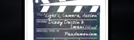 Dizzy Dustin - Lights, Camera, Action! feat. Imani (The Pharcyde) Promo Vid