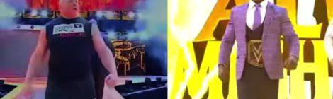 "JFK & Wade Barber ""Brock VS Lashley"" ft. P-Rawb & Collotta (video) prod. by Statik Selektah"