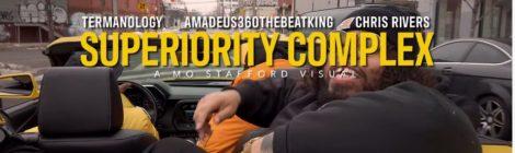 "Termanology & Amadeus ""Superiority Complex"" feat. Chris Rivers [video]"