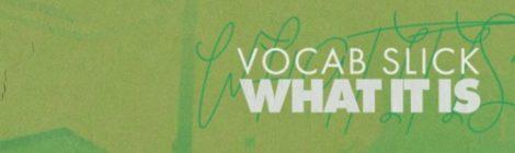 Vocab Slick - What It Is